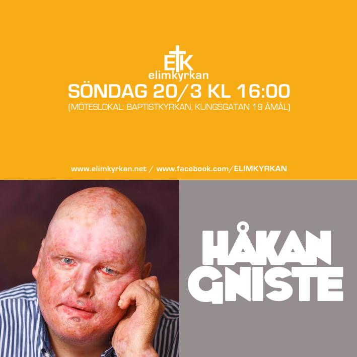 20160320 Gudstjänst Håkan Gniste