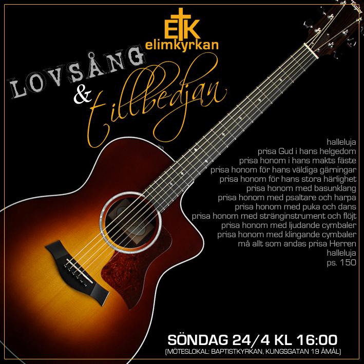 20160424 Gudstjänst Lennart Fjell