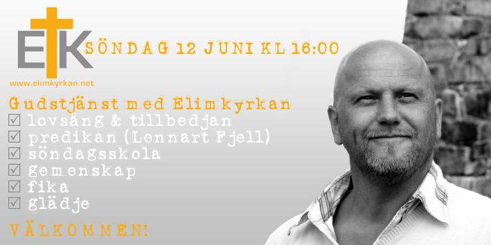20160612 Gudstjänst Lennart Fjell